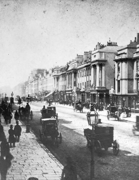 Regent Street, London, 1860