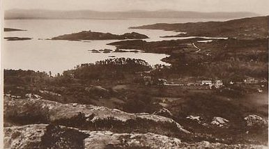 Glengarriff-Harbour-Co-Cork-Ireland-RP-Postcard-0835
